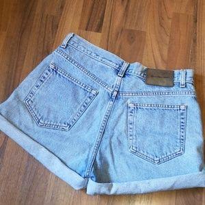 Calvin Klein | Vintage 90' High Waist Denim Shorts